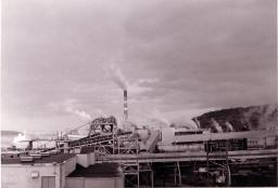 MacMillan Bloedel Powell River Pulp and Paper Mill 1971
